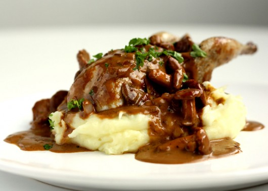 Pot roast quail is a great dish to serve when you are hosting a dinner ...